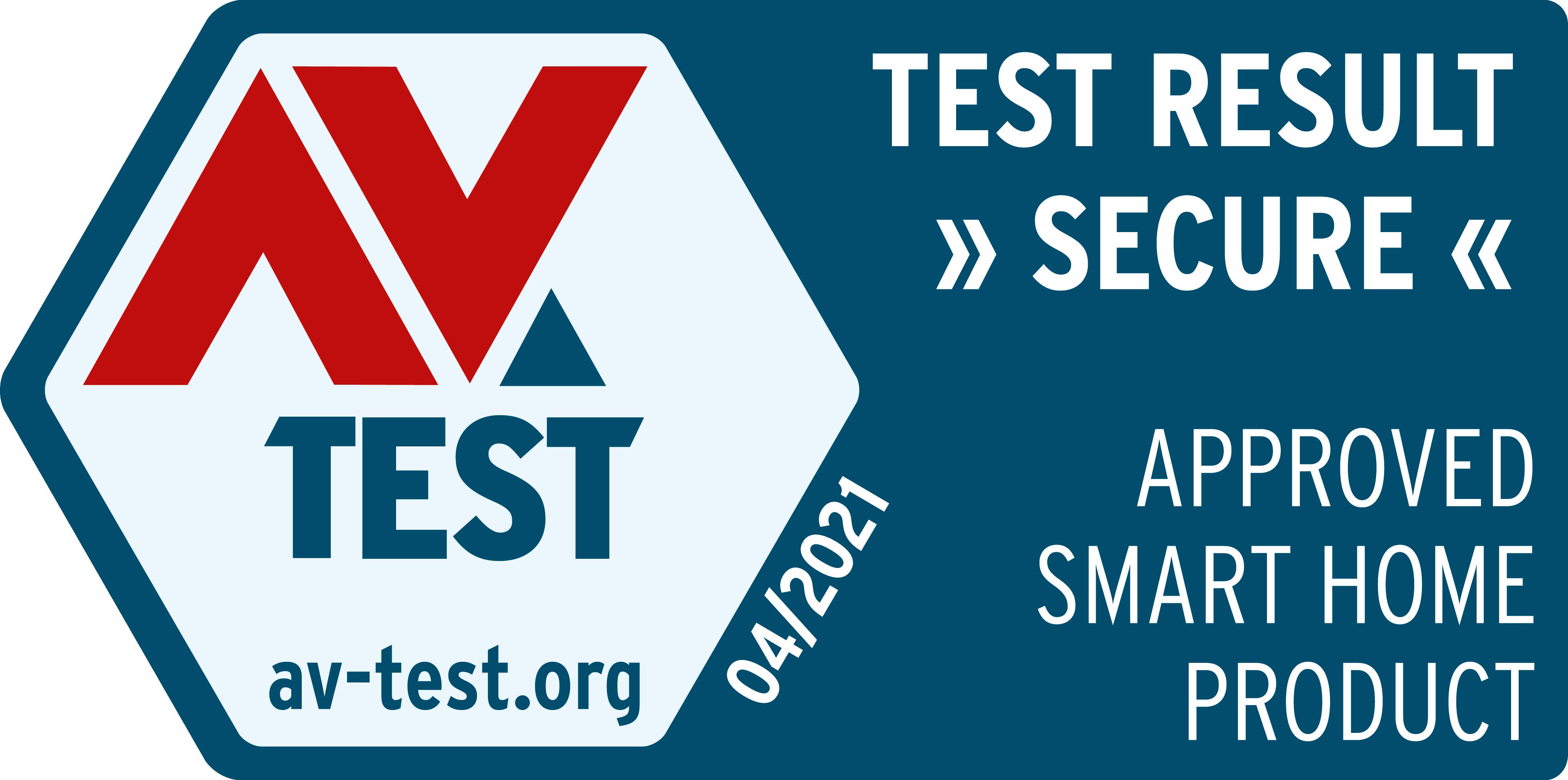 AV-Test Gütesiegel